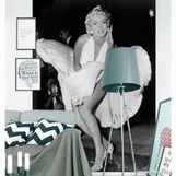 Painel-fotografico-adesivo-Marilyn-preto-e-branco-183m-x-26m-Grudado-Adesivos