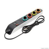 Filtro-de-linha-13m-4-tomadas-2P-T-10A-com-USB-bivolt-DN1852-branco-Daneva