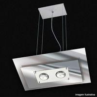 Pendente-de-vidro-Spacial-retangular-espelhado-para-2-lampadas-prata-Pantoja