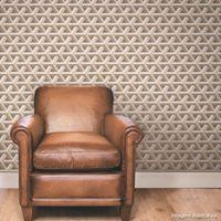Papel-de-parede-geometrico-cinza-Boomerang-52cm-x-10m-vinilico-Revex
