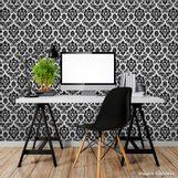 Papel-de-parede-arabesco-preto-1535-52cm-x-10m-vinilizado-Revex
