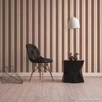 Papel-de-parede-listrado-bege-e-marrom-52cm-x-10m-vinilico-Revex