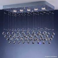 Plafon-Cristal-Ball-LED-5W-3000K-para-5-lampadas-power-GU10-bivolt-cromado-Bronzearte