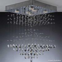 Plafon-Piramidal-para-6-lampadas-LED-GU10-5W-3000K-bivolt-cromado-Bronzearte