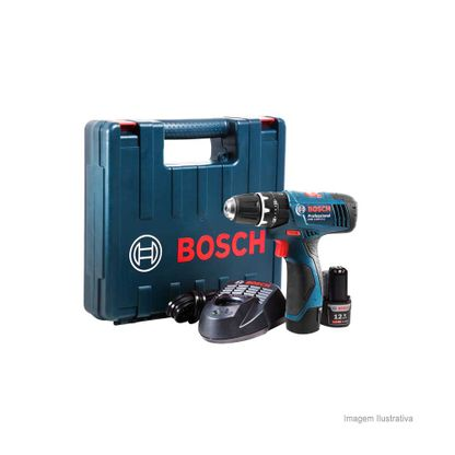 Furadeira parafusadeira de impacto a bateria 220V GSB 1200-2-LI Bosch