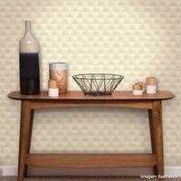 Papel-de-parede-geometrico-bege-Cubos-3D-52cm-x-10m-vinilizado-Revex