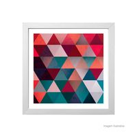 Quadro-decorativo-Colors-and-Forms-33x33cm-branco-Infinity