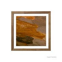 Quadro-decorativo-Texture-II-33x33cm-rustico-Infinity