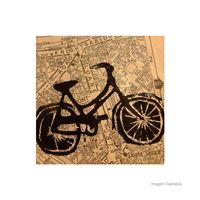 Placa-decorativa-Bike-20x20cm-Infinity