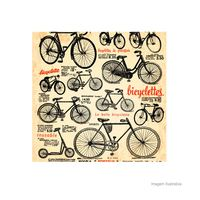 Placa-decorativa-Bicyclettes-20x20cm-Infinity