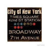Placa-decorativa-New-York-Station-20x20cm-Infinity