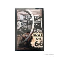 Placa-decorativa-Route-66-II-20x30cm-Infinity
