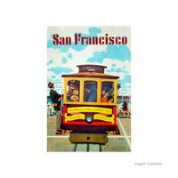 Placa-decorativa-San-Francisco-20x30cm-Infinity