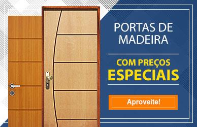 Banner - Portas de Madeira