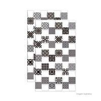 Revestimento-de-parede-Prisma-Blanc-HD-brilhante-31x54cm-branco-e-preto-Savane
