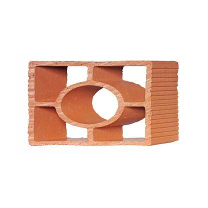 Tijolo vazado diagonal redondo 25x18x7cm Martins
