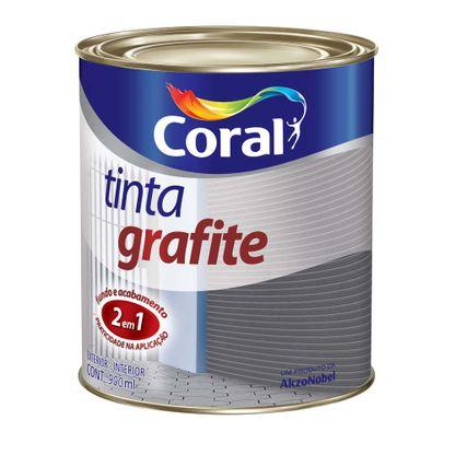 Esmalte 900ml grafite escuro Coral