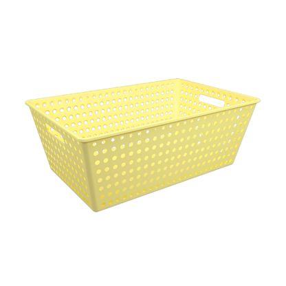 Cestão 38L plástico amarelo One Brinox
