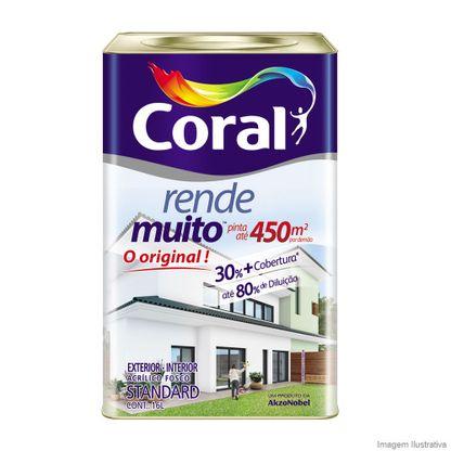 Tinta acrílica Rende Muito fosco 16L Coral