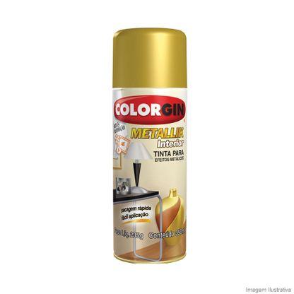 Tinta spray Colorgin metallik interior ouro 350ml Sherwin Williams