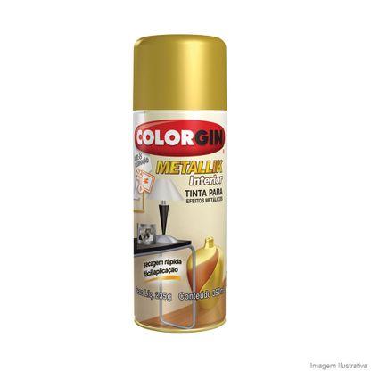Tinta spray Colorgin metallik interior cromado 350ml Sherwin Williams
