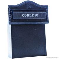 Caixa-de-correio-Jornal-Class-Eco-preta-Pintart