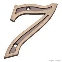 Numero-7-Residencial-de-zamac-latonado-oxidado-Uniao-Mundial