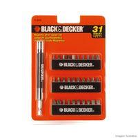 Jogo-de-31-pecas-com-soquete-magnetico-laranja-Black--Decker