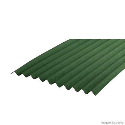 Telha de fibra vegetal