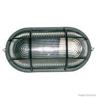 Tartaruga-oval-com-grade-preta-para-1-lampada-Home-Line