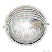 Tartaruga-circular-meia-Cana-branca-para-1-lampada-Home-Line