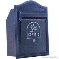 Caixa-de-correio-Alfa-Frontal-Eco-preta-Pintart
