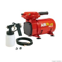 Moto-Compressor-de-ar-MS-23-Air-Plus-com-kit-vermelho-Schulz