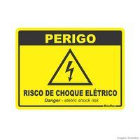 Placa-de-sinalizacao-15X20cm-PERIGO-RISCO-DE-CHOQUE-ELETRICO-Sinalize