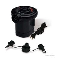 Bomba-de-ar-eletrica-Quick-Fill-127V-pequena-preta-Intex