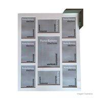 Porta-retrato-8-janelas-10x15cm-e-1-janela-15x21cm-Windows-cinza-Infinity