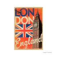 Placa-decorativa-London-I-20x30cm-Infinity