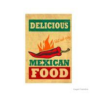 Placa-decorativa-Mexican-20x30cm-Infinity