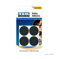 Feltro-redondo-35mm-com-8-unidades-preto-Tekbond