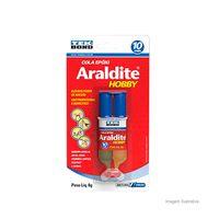 Cola-Epoxi-araldite-hobby-6g-seringa-incolor-Tekbond