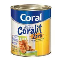 Esmalte-sintetico-Coralit-Zero-base-agua-brilhante-900ml-branco-Coral