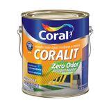 Esmalte acetinado Coralit Secagem Rápida Balance branco 3,6L Coral