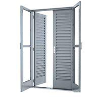 Porta-de-correr-de-aco-4-folhas-Suprema-215x150x14cm-cinza-Lucasa