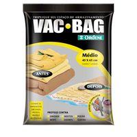 Saco-para-armazenamento-a-vacuo-Vac-Bag-medio-transparente-Ordene