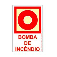Placa-de-sinalizacao---BOMBA-DE-INCENDIO---vermelho-Sinalize