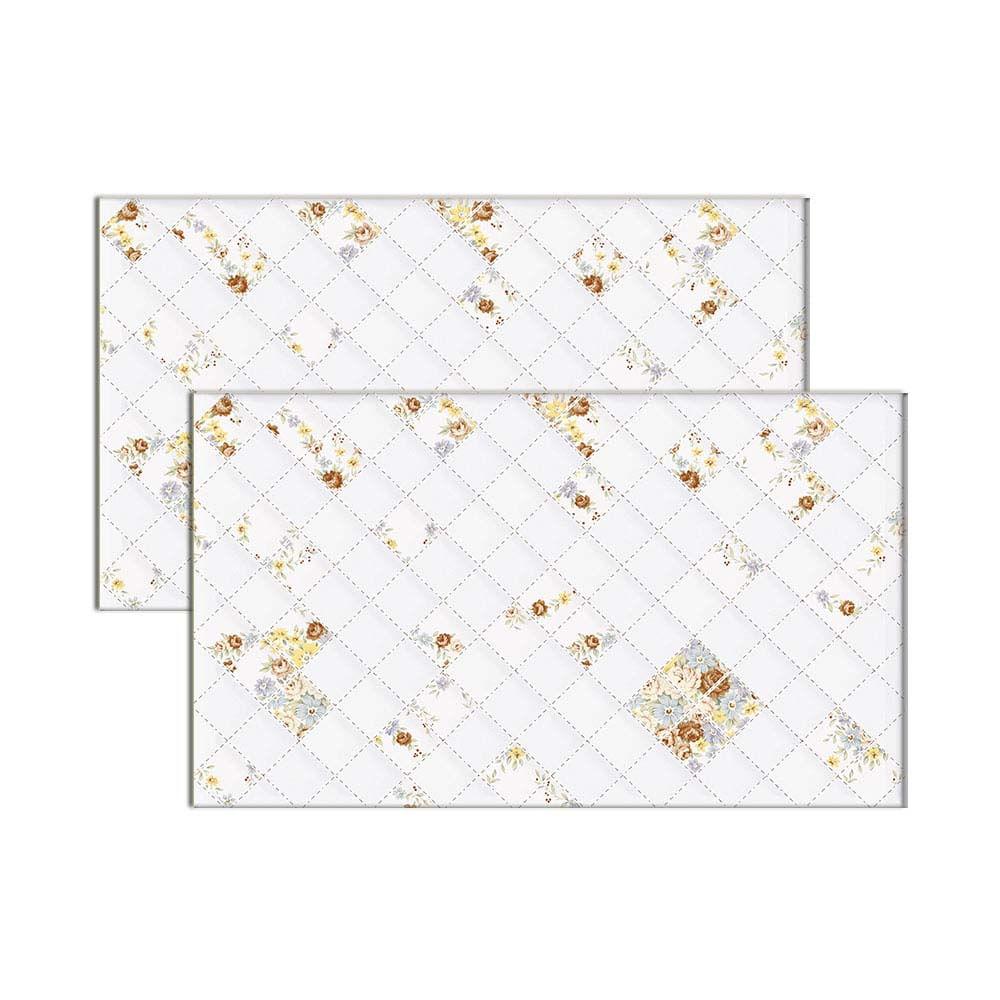 Revestimento de parede bold 33x57cm HD 57719 branco Rochaforte - Telhanorte