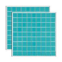 Pastilha-de-vidro-Cristal-placa-292x292cm-verde-Glass-Mosaic