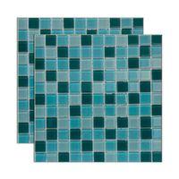Pastilha-de-vidro-Miscelanea-placa-292x292cm-verde-e-branco-Glass-Mosaic
