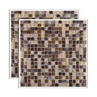 Pastilha-de-vidro-Glass-Stone-placa-31x31cm-marrom-Glass-Mosaic