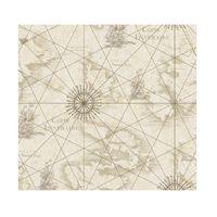 Papel-de-parede-carta-grafica-bege-e-marrom-Allegra-vinilico-53cm-x-10m-Muresco